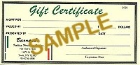 $25 Gift Certificate - Product Image